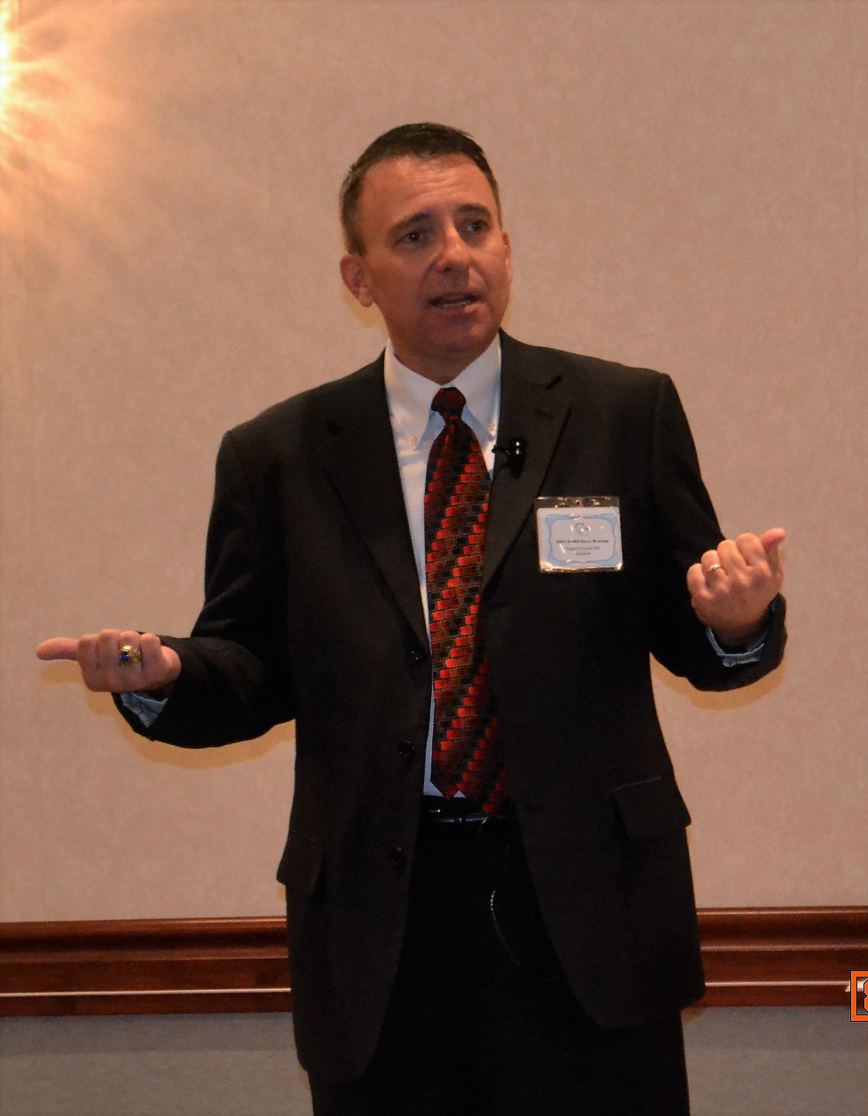 Speaker Robert Yonash