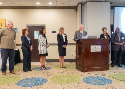 induction of the 2018-19 board by ARRT president