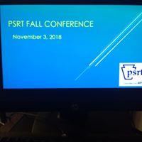 PSRT Fall Conference slide